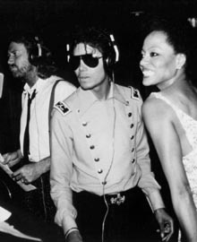 Barry Gibb - Michael Jackson - Diana Ross