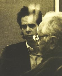 Johnny Cash con Nick Cave