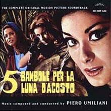 Piero Umiliani - Cinque bambole per la luna di agosto