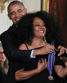 Diana Ross - Barack Obama