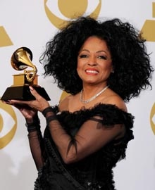 Diana Ross riceve il Grammy alla carriera - 2012