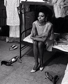 Diana Ross - The Supremes - In camerino