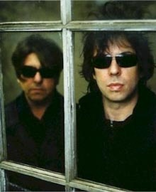 Echo & The Bunnymen - Ian Mc Culloch e Will Sergeant