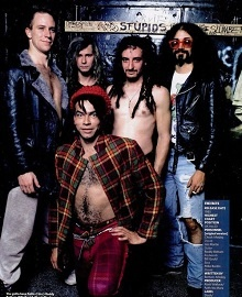 Faith No More con Chuck Mosley