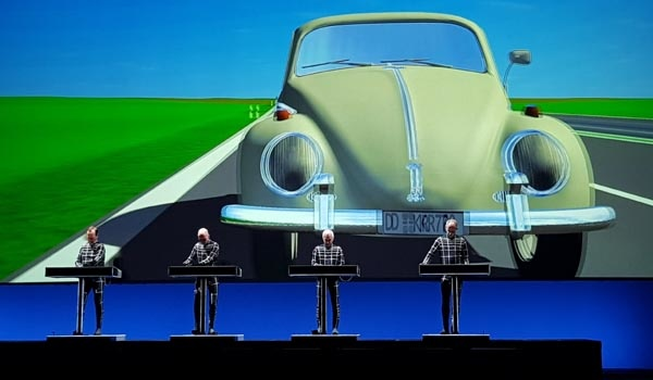 Kraftwerk live a Ostia Antica