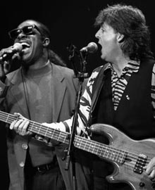 Paul McCartney - Stevie Wonder