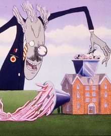 Pink Floyd - The Wall - Le illustrazioni di Gerald Scarfe