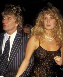 Rod Stewart - Rachel Hunter