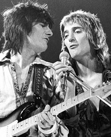 Rod Stewart - Ronnie Wood - Faces