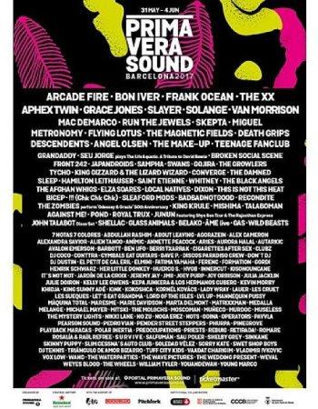 Primavera Sound Festival 2017
