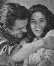 Johnny Cash con June Carter