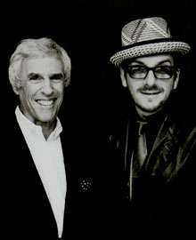 Elvis Costello con Burt Bacharach