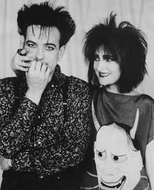 Robert Smith e Siouxsie Sioux