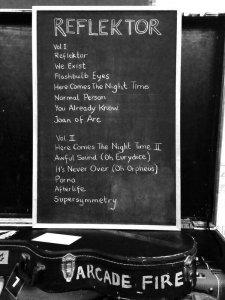 Gli Arcade Fire svelano la tracklist di