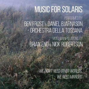 Ben Frost e Daniel Bjarnason a Siena per Music For Solaris, con i visual curati da Brian Eno