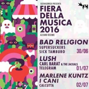 Dal 30 giugno al 2 luglio si terrà ad Azzano Decimo (PN) l'edizione 2016 della Fiera della Musica