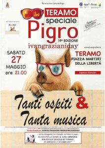 """Si svolgerà sabato 27 maggio a Teramo l'Ivan Graziani Day con un'edizione speciale del """"Pigro"""""""