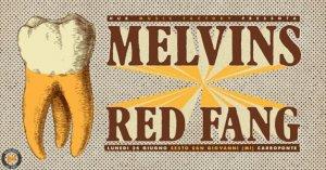 Melvins e Red Fang headliner al Carroponte di Sesto San Giovanni