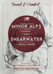Vinci Cd e ingressi per le prossime date di Minor Alps e Shearwater [CONTEST]