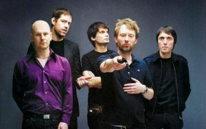 I Radiohead al festival di San Gallo (Svizzera)