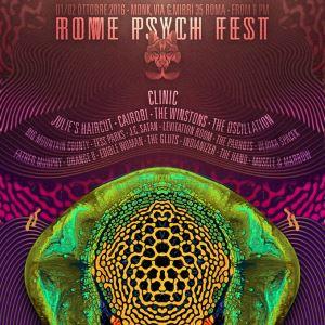 Sabato 1 e domenica 2 ottobre al Monk di Roma il primo Psych Fest con Clinic, Julie's Haircut e Winstons