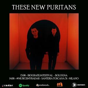 Annunciate due date in Italia per i These New Puritans il prossimo giugno