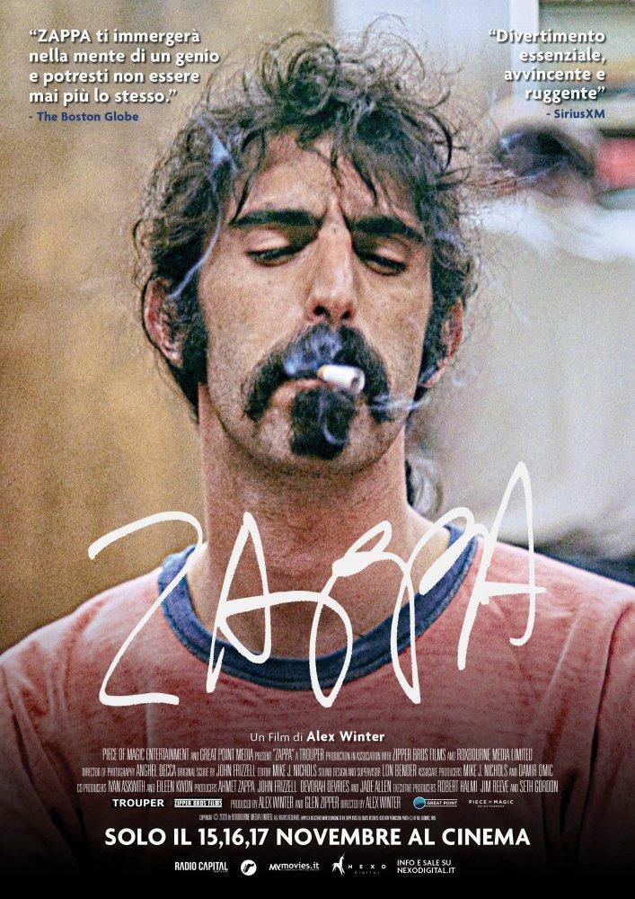 Arriva il documentario su Frank Zappa