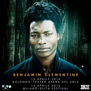 Due date italiane per Benjamin Clementine