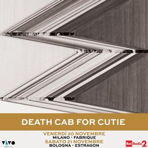 Death Cab For Cutie in Italia a novembre