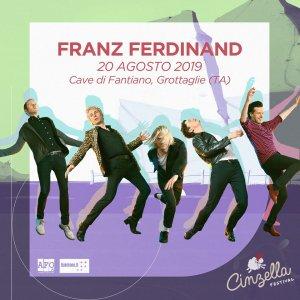 I Franz Ferdinand ospiti al Cinzella Festival