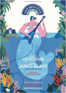 James Blake e Verdena al Vasto Siren Fest