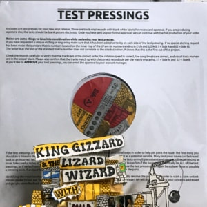 Asta record su ebay per il nuovo album dei King Gizzard