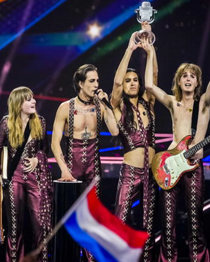 I Måneskin hanno vinto l'Eurovision Song Contest 2021