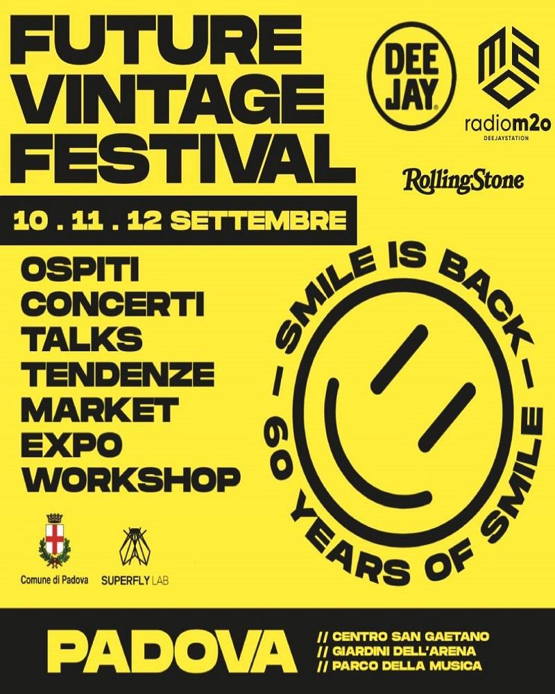 Padova: il 10 settembre torna il Future Vintage Festival. Tra gli ospiti Grandmaster Flash e Samuel