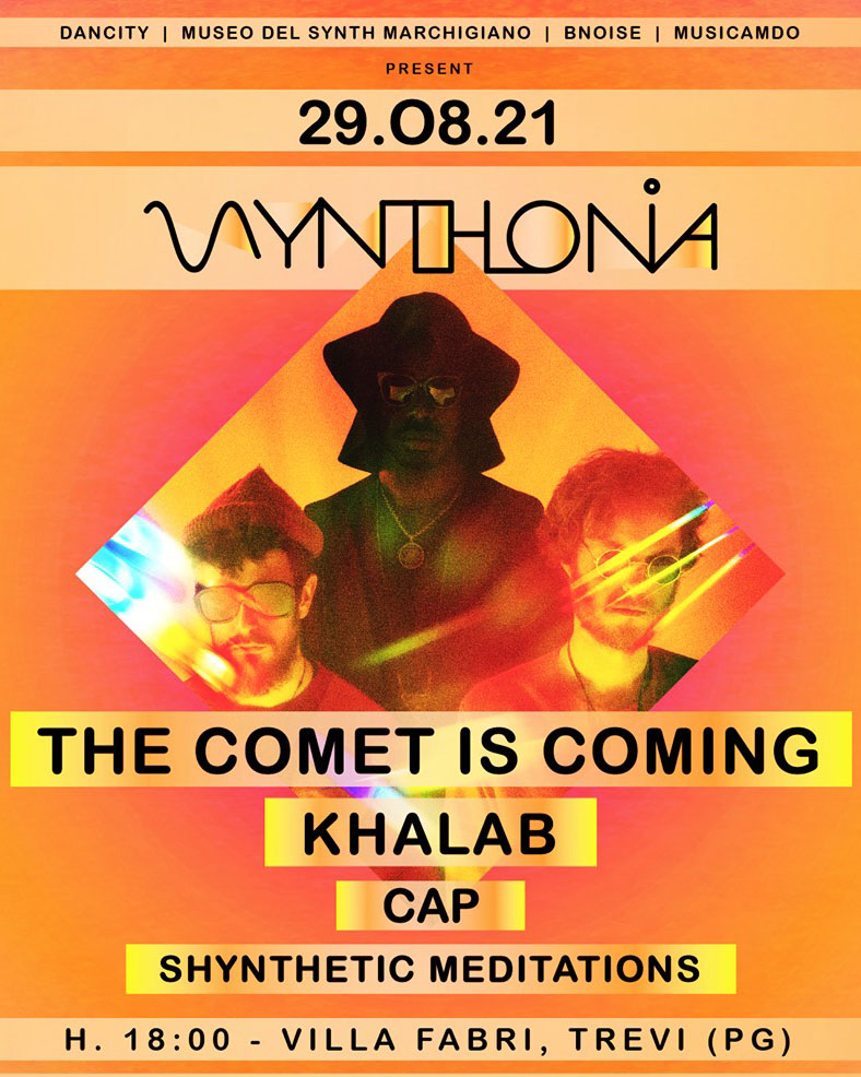 The Comet Is Coming al Synthonia di Trevi (PG)