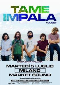 Data a Milano per i Tame Impala