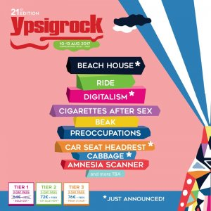 Ypsigock: annunciati anche Beach House, Digitalism, Car Seat Headrest e Cabbage